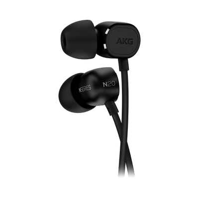 AKG N20 Reference class In-Ear headphones (Black) - Premium Sound Canada