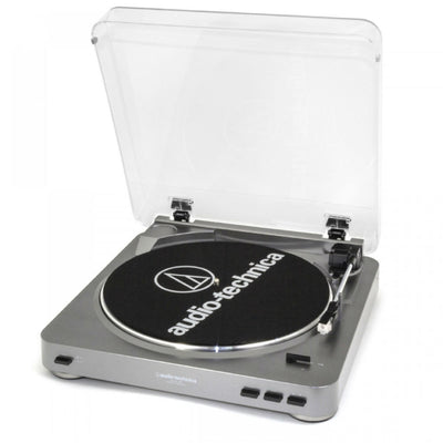 Audio-Technica AT-LP60USB Fully Automatic Belt Driven Turntable with USB Port by Audio-Technica - Premium Sound Canada