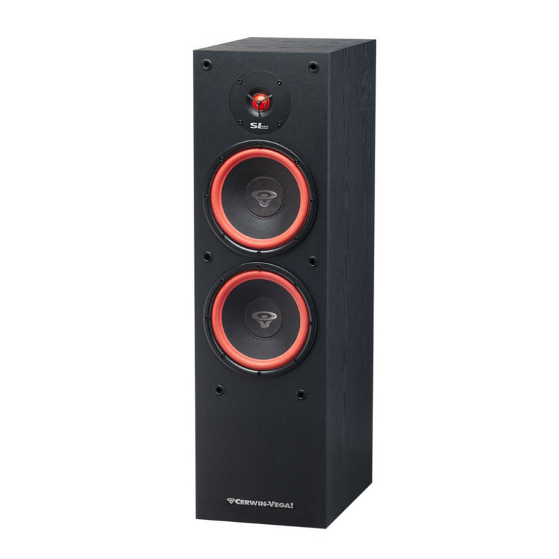 Cerwin Vega Sl 28 Dual 8 Inch 2 Way Floor Tower Speaker