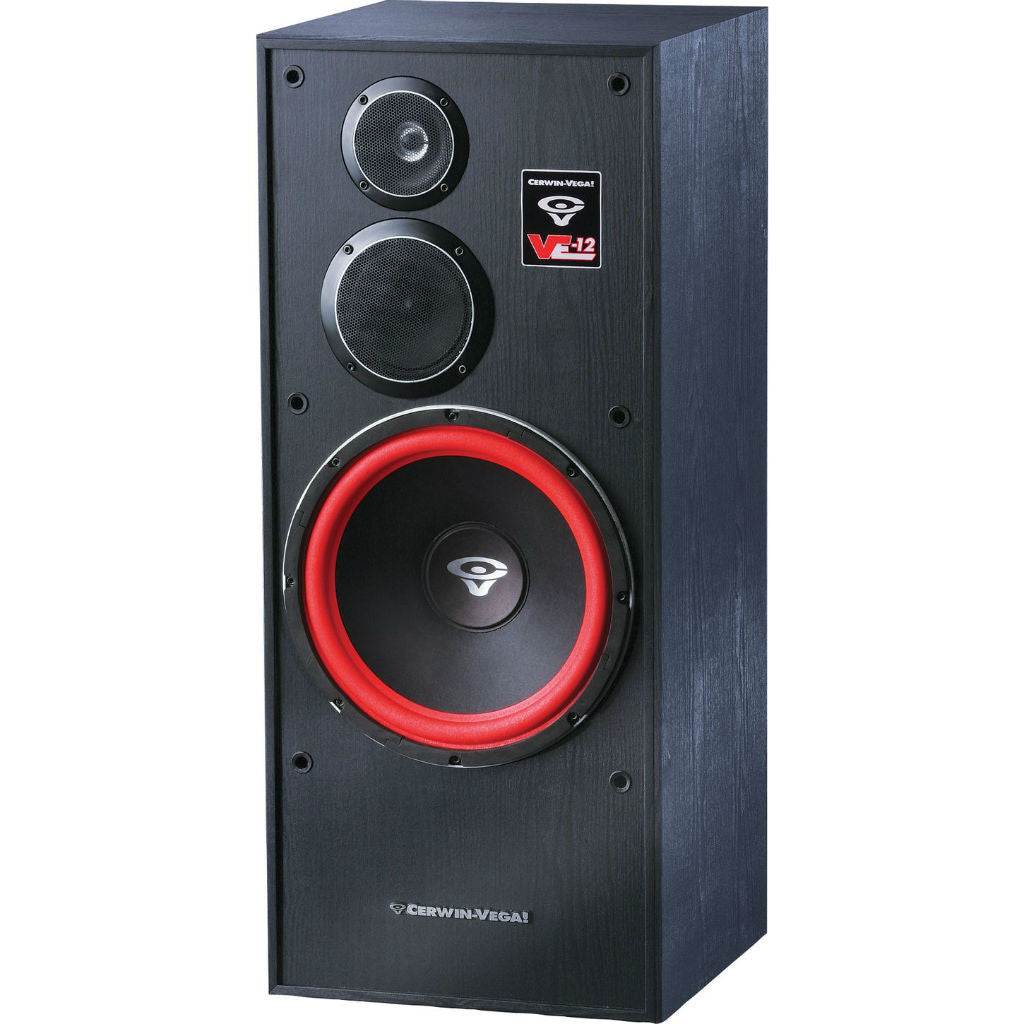 Cerwin vega xls 12 12 inch 3 way floorstanding tower for 12 inch floor speakers
