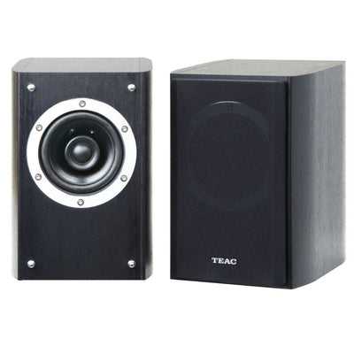 TEAC LS-301-B Bookshelf Speakers (Black) - Premium Sound Canada