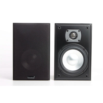 Vanatoo Transparent One Powered Bookshelf Speakers