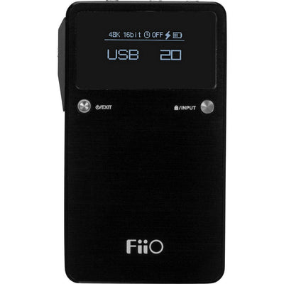 FiiO E17K ALPEN Portable Headphone Amplifier with DAC - Premium Sound Canada