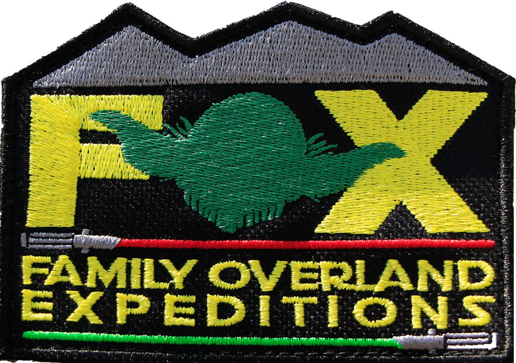Family Overland Expeditions May 4th Limited Patch