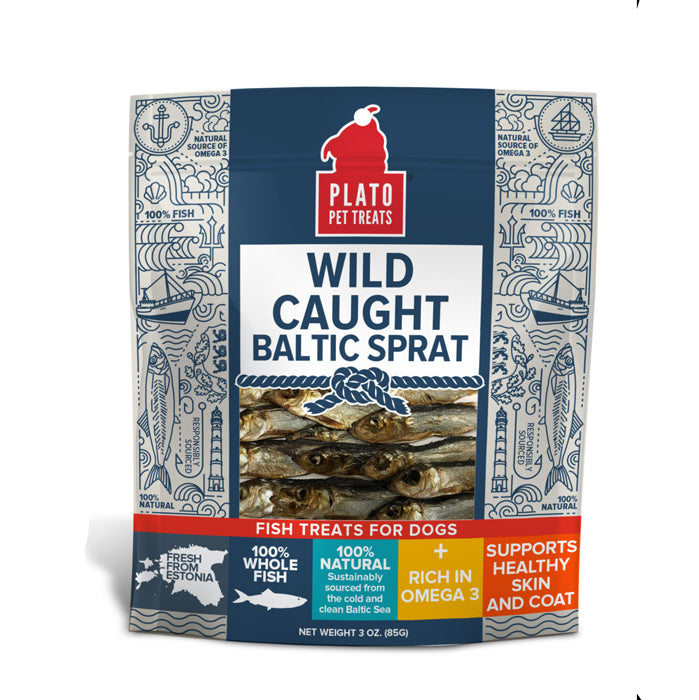 Plato Wild Caught Baltic Sprat