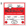 Emergency Rescue Decals