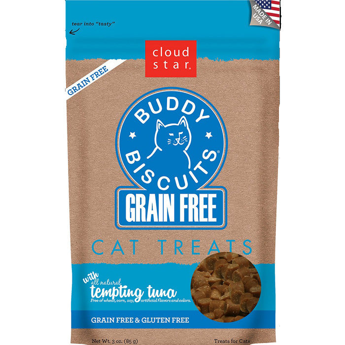 Tempting Tuna Grain Free <br>Buddy Biscuits Cat Treats