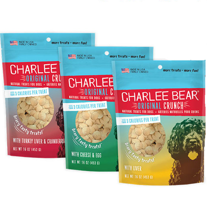 Charlee Bears Dog Treats<br>3 flavors