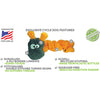 Duraplush Coil Caterpillar Dog Toy
