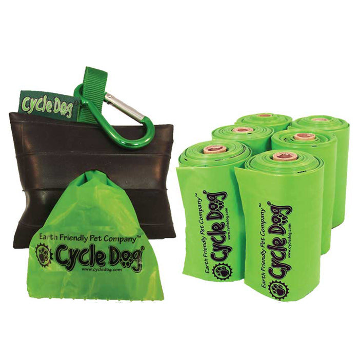 Park Pouch Pick Up Bag Holder<br>with Earth Friendly Bags