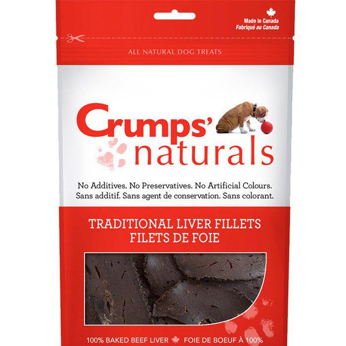 Crumps' Liver Fillets Dog Treats