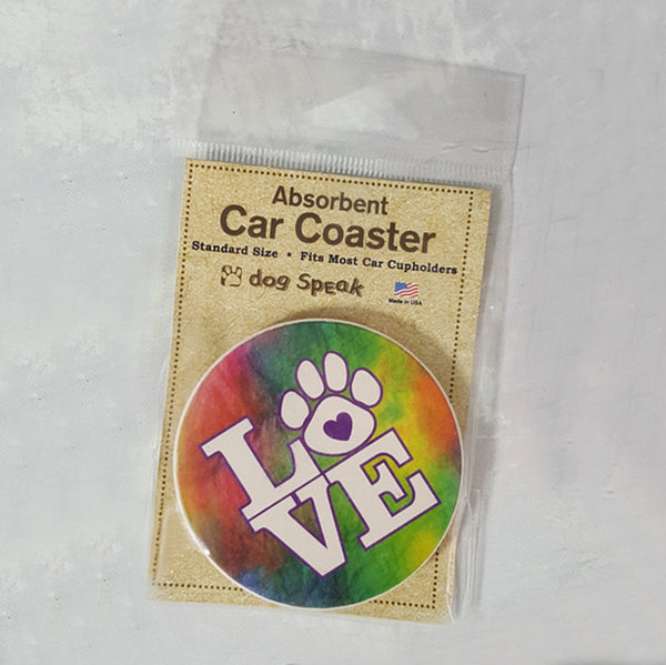 Absorbent Stone Coasters for Car or Home - 6 designs