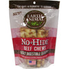 Earth Animal No Hide Dog Chews<br>the safe alternative to rawhides