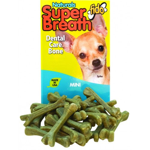 Fido Naturals Super Breath Dental Bones