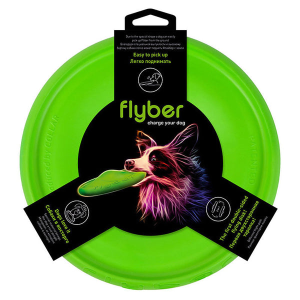 Flyber - the 2 sided flying disc