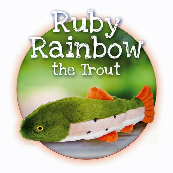 Rainbow Trout Ruby Plush Toy