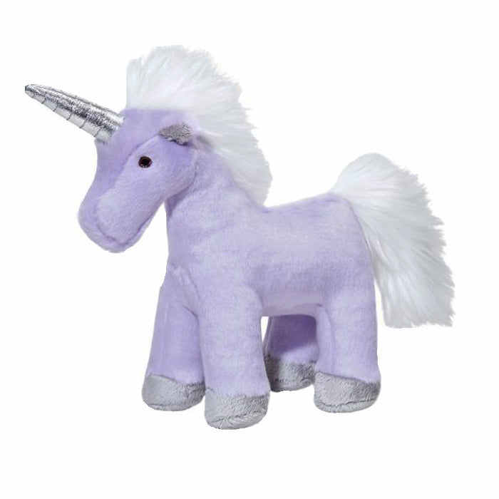 Violet the Unicorn Plush Dog Toy
