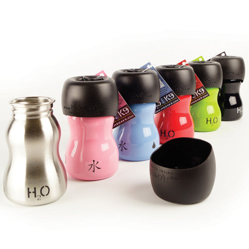 H2O4K9 Dog Water Bottle<br>& Travel Bowl - SALE!