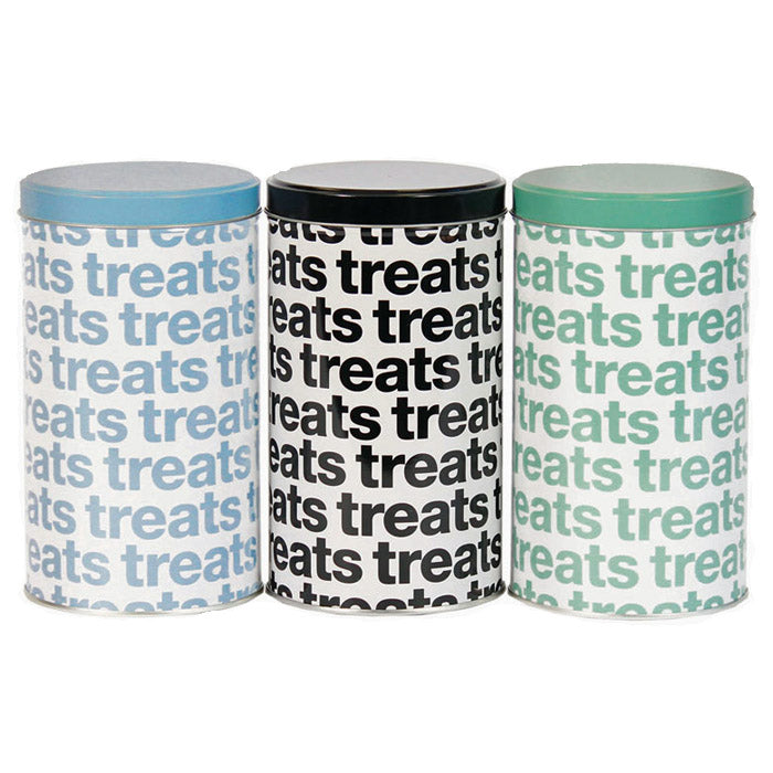 Helvetica Treat Tins
