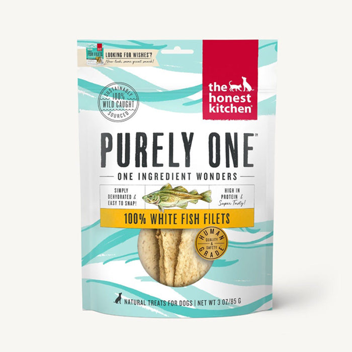 Purely One White Fish Filets Treats - (Wishes)