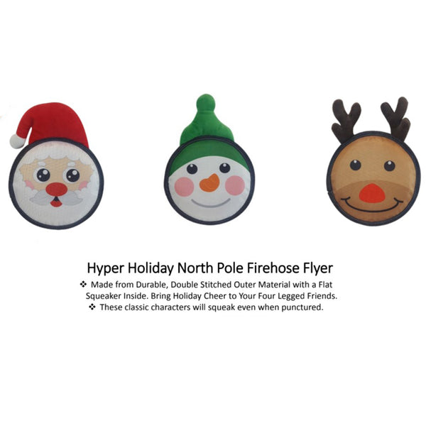 Holiday North Pole Firehose Flyers - 3 different characters