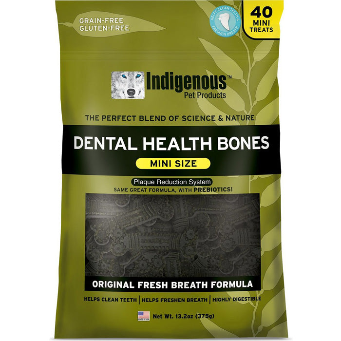 Indigenous Dental Health Bones - Mini Size - 2 flavors