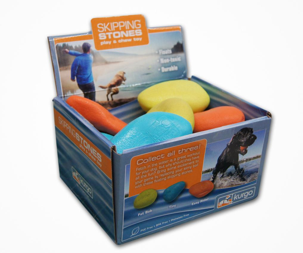 Skipping Stones - a fun play & chew toy