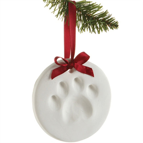 Pawprint Ornament