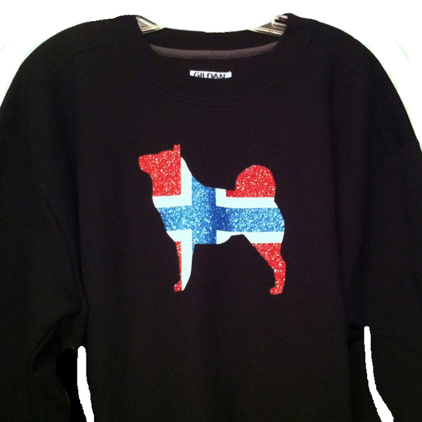 Sparkling Norwegian Elkhound Shirt<br>Fundraiser