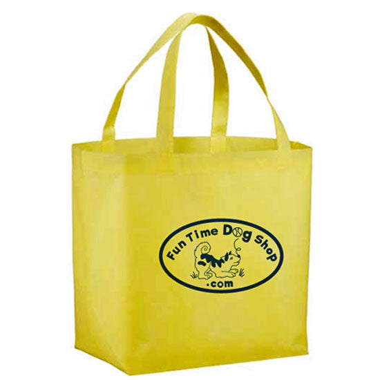Fun Time Dog Shop<br>Logo Products<br>Totes, Pens, Treat Bag &  Magnets