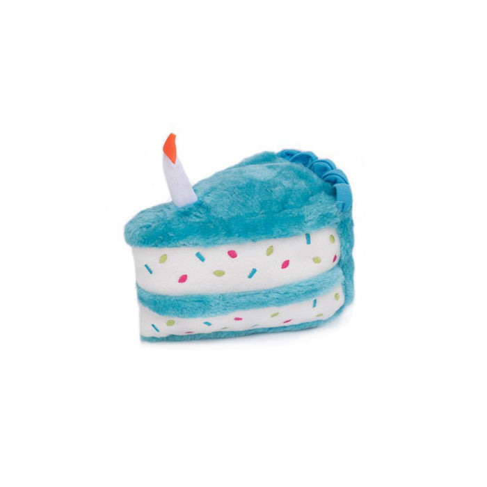 Birthday Cake Plush Toy<br>blue or pink
