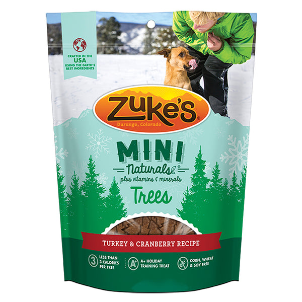 Zuke's Mini Naturals Trees - Turkey with Cranberry Recipe