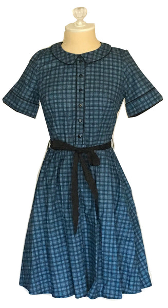 Gingham Blue's Dress