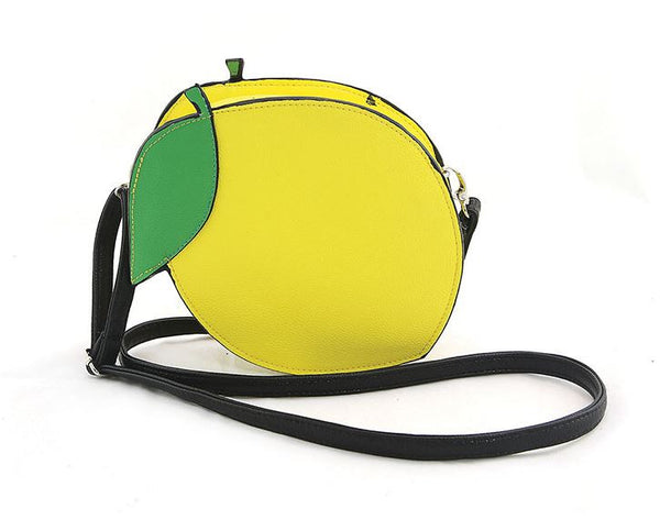 Lemon Crossbody Bag