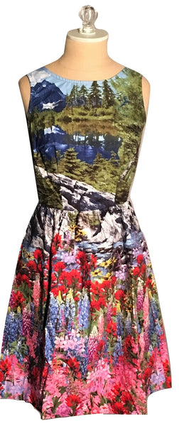 A day in the woods dress