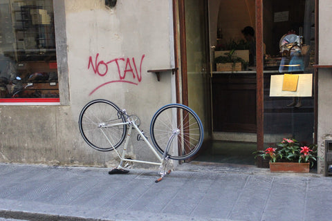 Bike on the Street - Italy