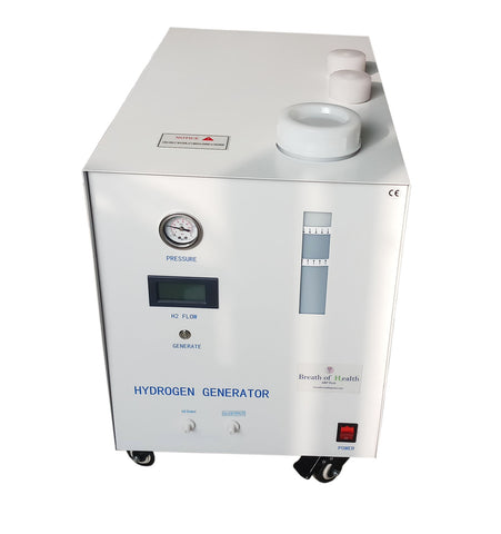 Breath of Health (ARP 2000) at 1558ml/min Pure Hydrogen Inhalation and H2 Water Machine with ARP, SPE/PEM Tech