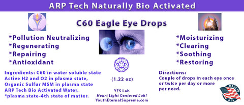 C60 Eagle Eye Drops (1 oz, 30ml)