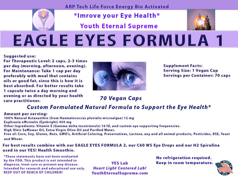Eagle Eyes FORMULA 1 (70 Caps)