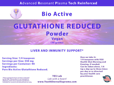 Bio Active Glutathione Reduced (50 grams)