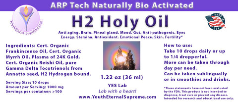 H2 Holy Oil (1 oz)