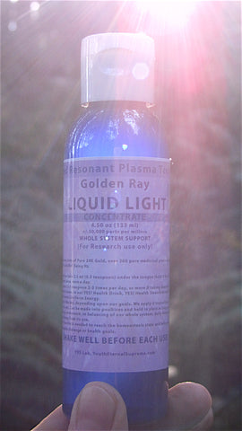 Golden Ray-Liquid Light CONCENTRATE (WHOLE SYSTEM SUPPORT)
