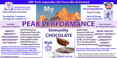 My Peak Performance CHOCOLATE (Immunity) (120 ml) 4.07 oz