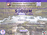 SODIUM Plasmatic Ionic Mineral-C60 Fullerene Enhanced (8.70 oz) 257ml