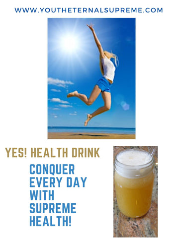 YES! Health Drink (Info OPTIMUM HEALTH Protocol* STEP #4) EDUCATION