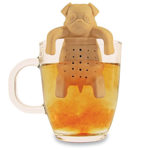 Tea Infuser Silicone Pug In A Mug