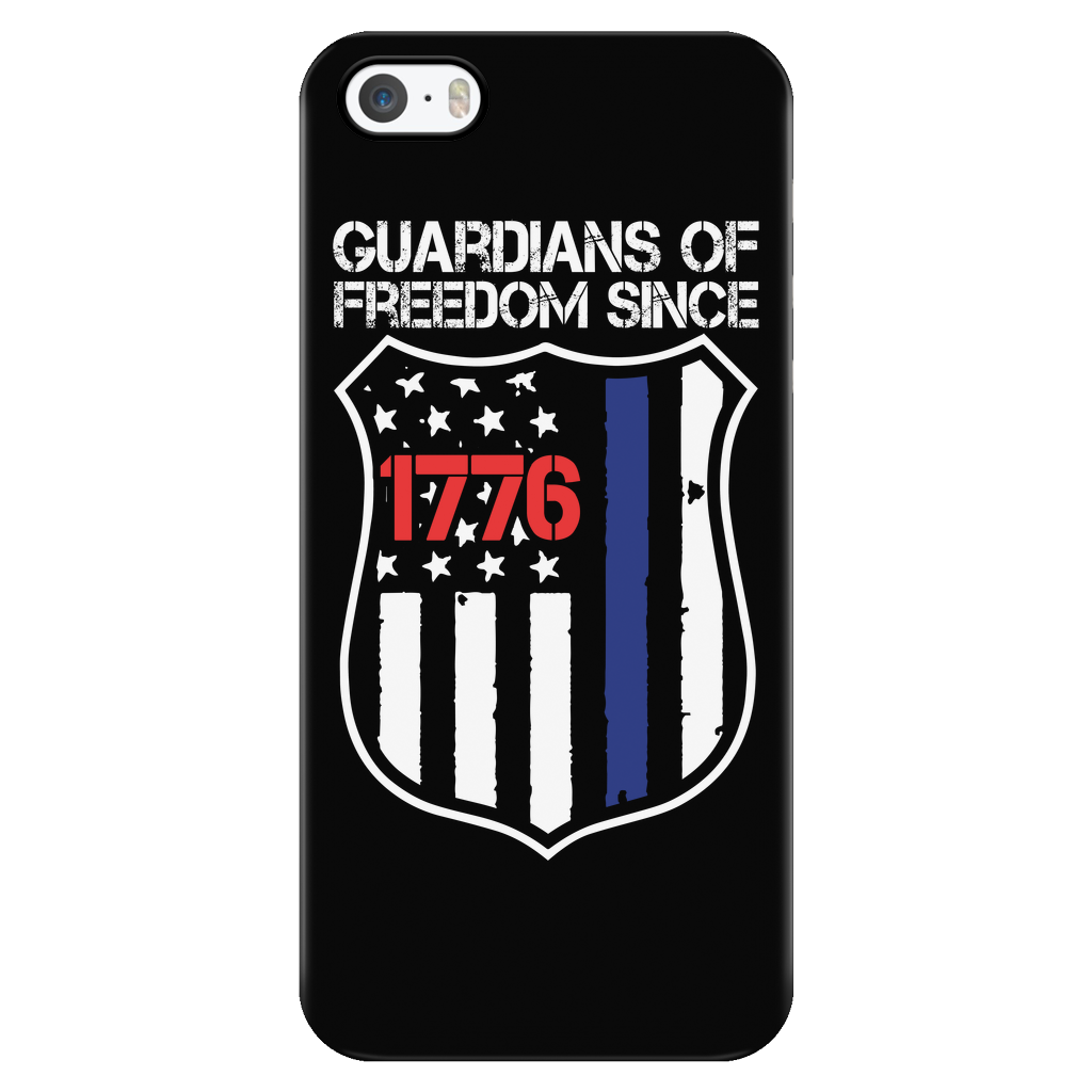 Guardians Of Freedom iPhone Case - Aqua Adventurer
