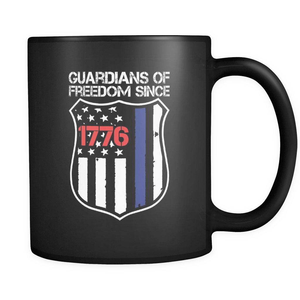 Guardians Of Freedom Police Mug - Aqua Adventurer