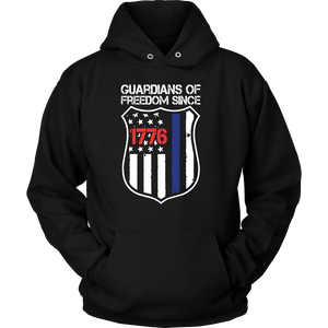 Guardians Of Freedom Police Shirts & Hoodies - Aqua Adventurer