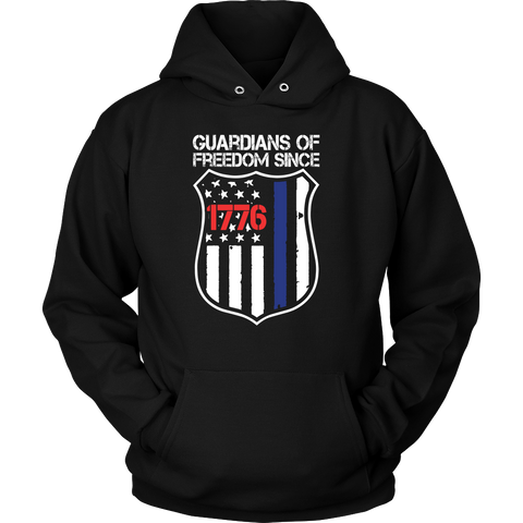 Guardians Of Freedom Police Shirts & Hoodies